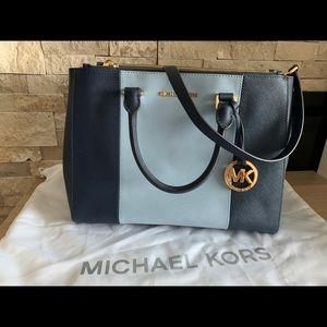Michael Kors 2-tone handbag